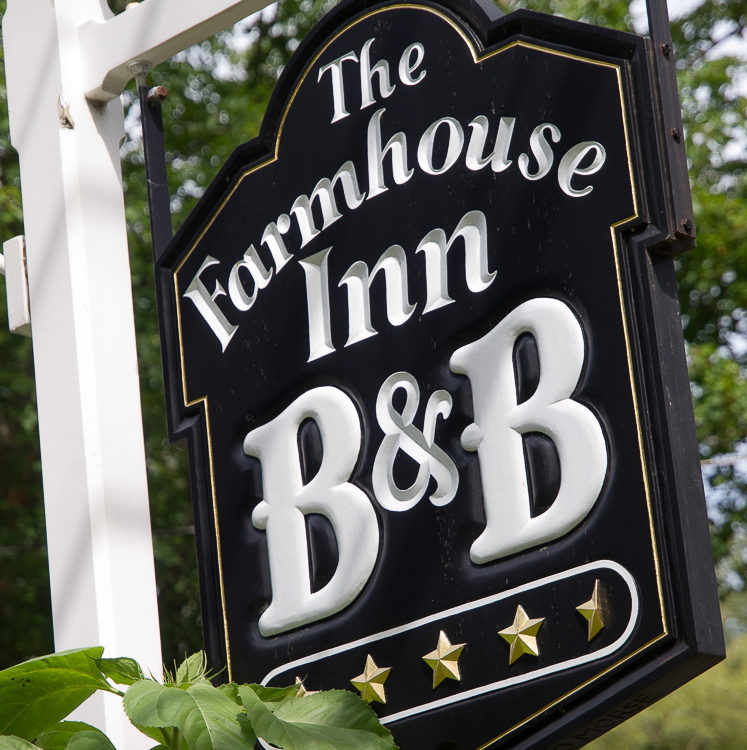 The Farmhouse Inn B&B logo sign